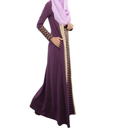 Evening Abaya Purple