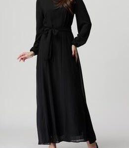 Chiffon Abaya Black