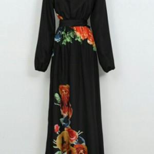 Flower Abaya